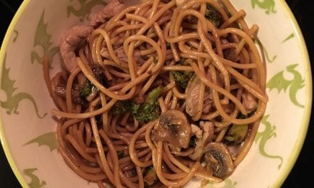 Pork or What-Have-You Lo Mein